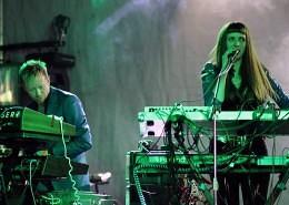 Vile Electrodes On Stage