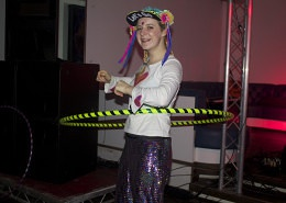 Rosie was a hula hooping legend.