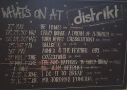 The brilliant programme at Distrikt