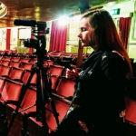 Jordan Filming at Theatre Royale