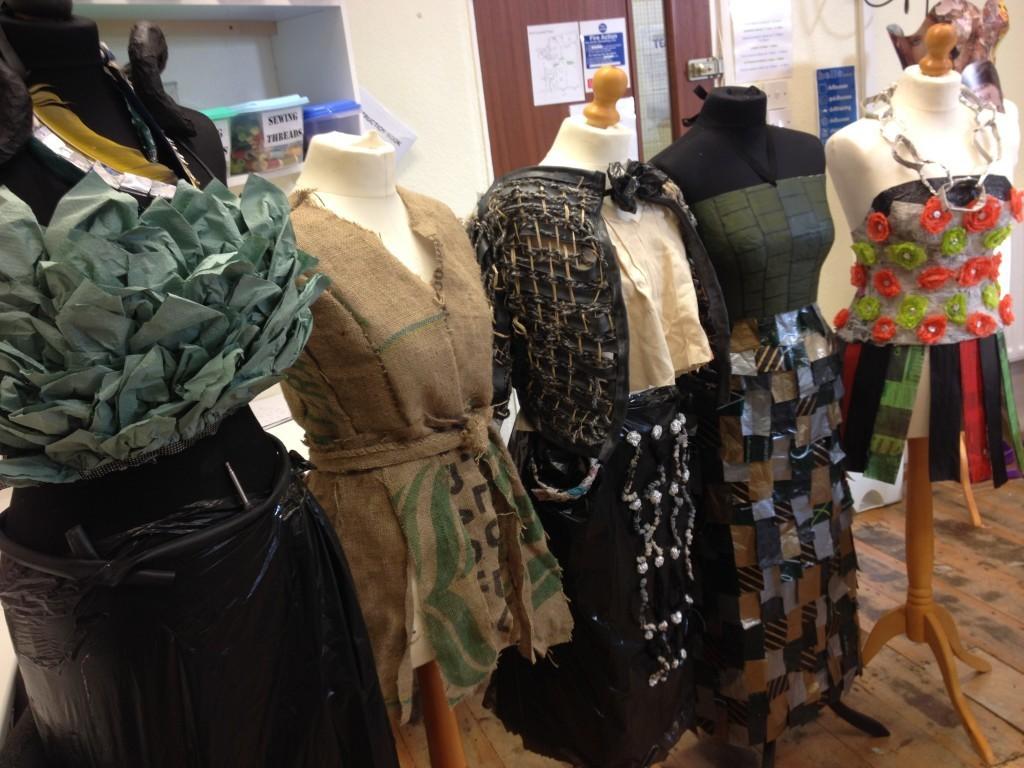 Trashion Exhibition Amp Designer Jess Eaton Visit Dv8 Sussex