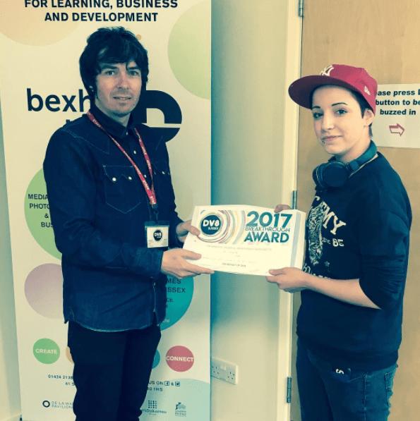 Dv8 Bexhill Breakthrough Award 2017