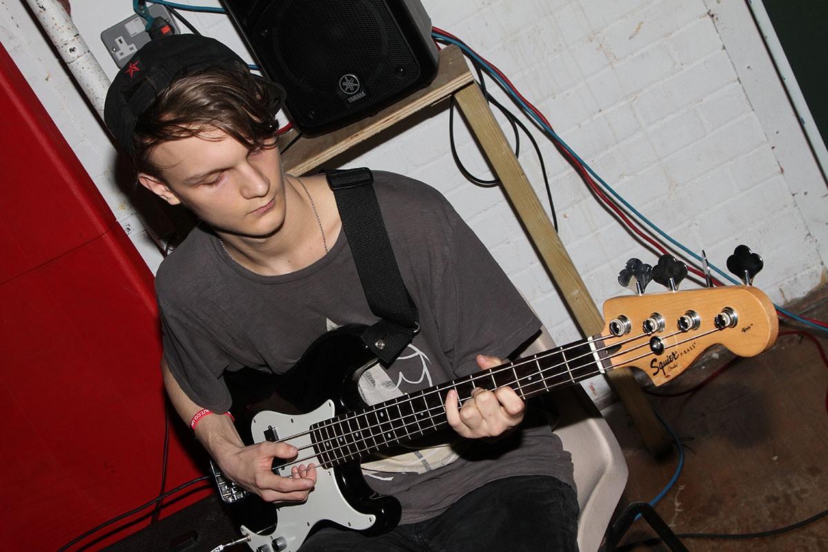 Jacob on Guitar