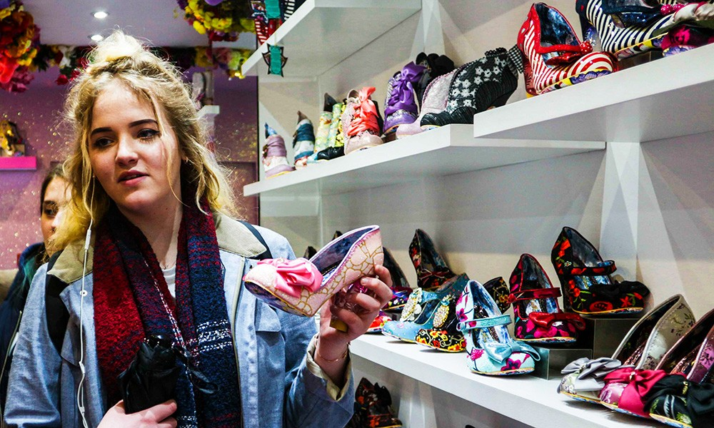 Fashion trip to Irregular Choice