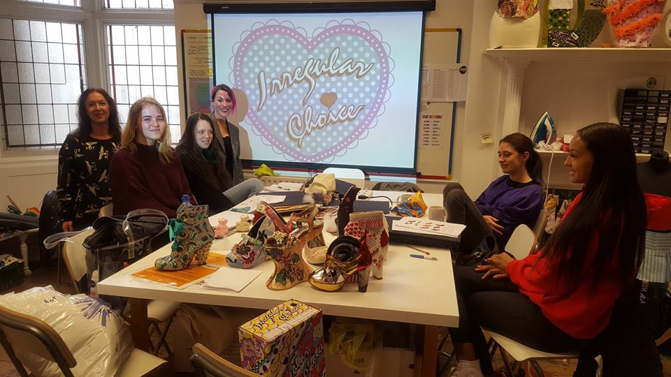 Irregular Choice Visits Dv8 Fashion Students