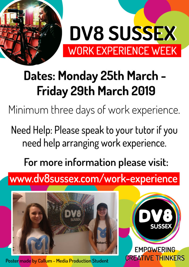 Work Experience Week