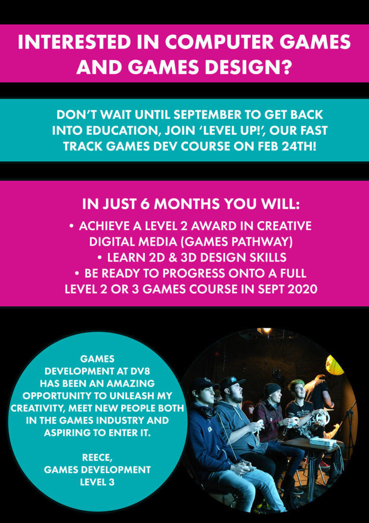 Level Up! Games Dev Level 2 Fast Track Course